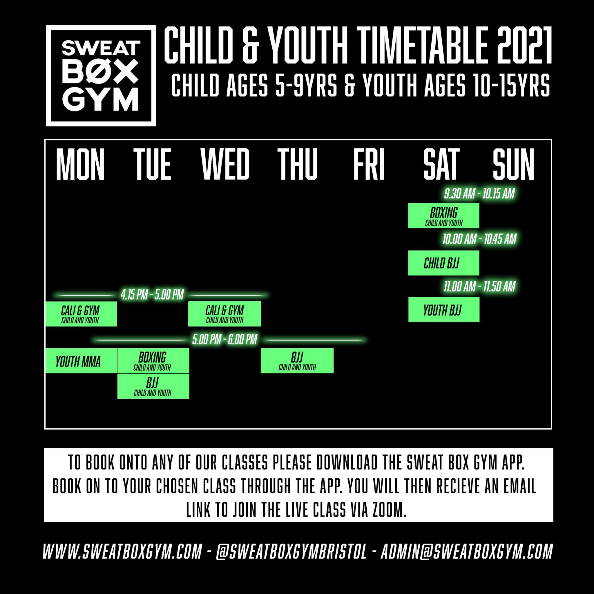 Newest 1 Kids Timetabke April 21 Timetable Copy